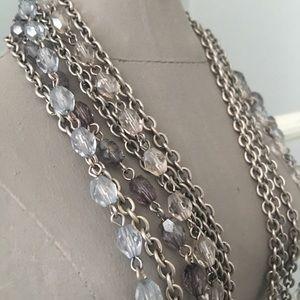 Gorgeous Muti-Strand Necklace Ann Taylor Loft